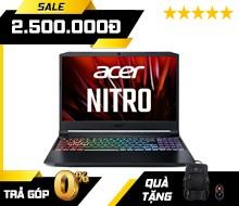 Acer Nitro 5 AN515-56-51N4 (NH.QBZSV.002) : i5-11300H | 8GB RAM | 512GB SSD | GTX 1650 4GB + Iris Xe Graphics | 15.6 FHD 144Hz | Win 10