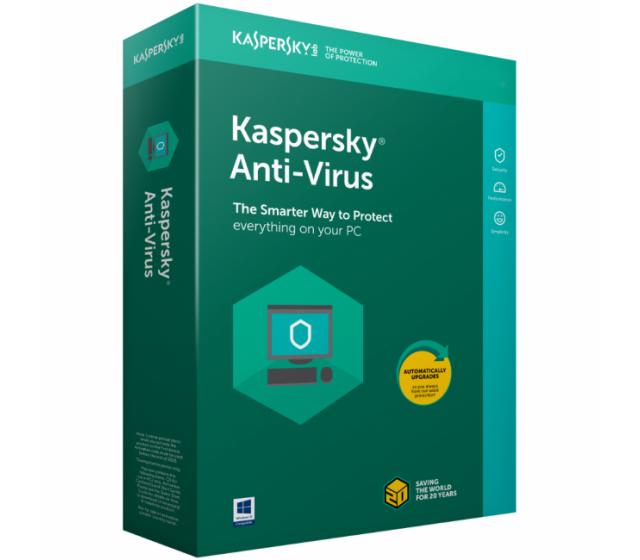 Kapersky Antivirus 3PC