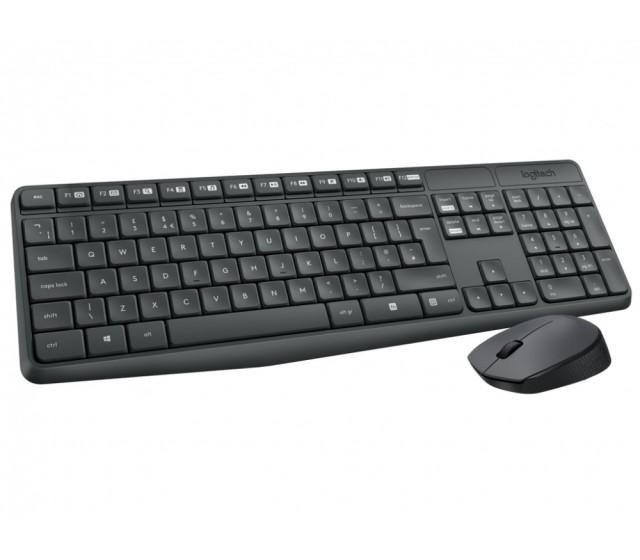 Wireless Combo MK235 (Bàn phím và chuột không dây)