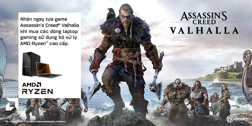 Tặng game Assassin's Creed Valhalla