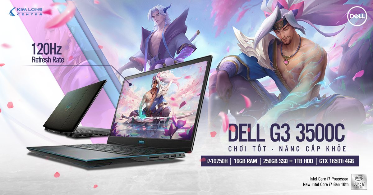 Laptop-gaming-Dell G3 3500Cw