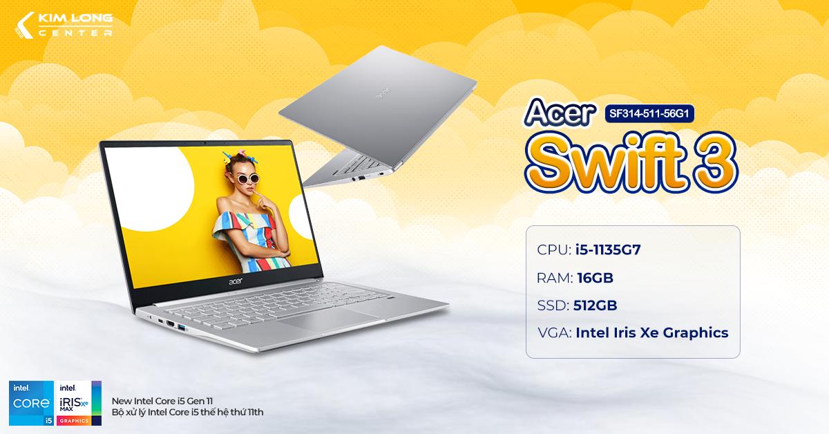 laptop-Acer Swift 3 SF314-511-56G1
