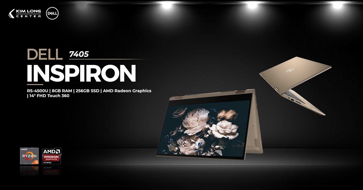 laptop-Dell Inspiron 7405