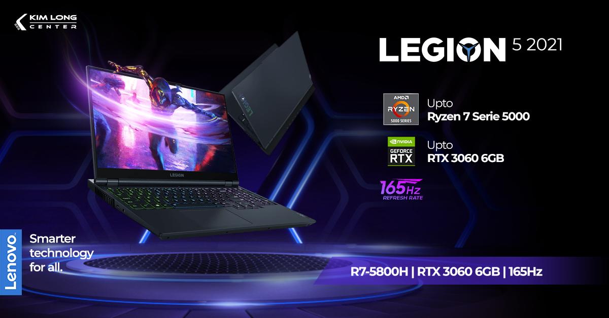 Lenovo Legion 5 2021 15ACH6H R7-5800H
