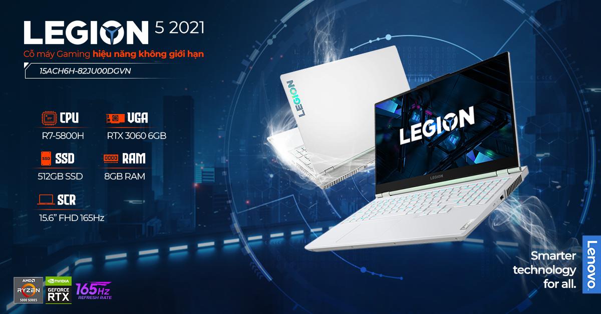 laptop-Lenovo Legion 5 2021 15ACH6H-82JU00DGVN
