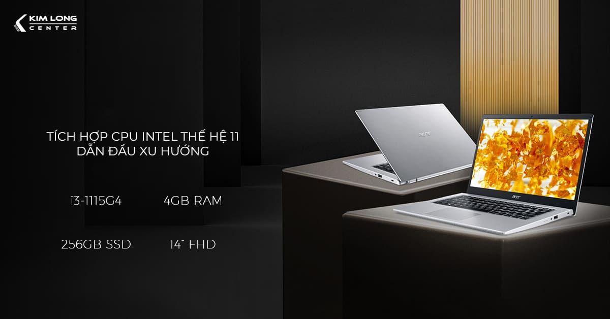Acer Aspire 5 A514-54-39KU trang bị cpu và gpu mới nhất