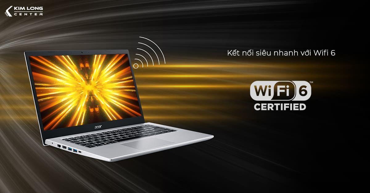 Kết nối mạng nhanh hơn với Wifi 6