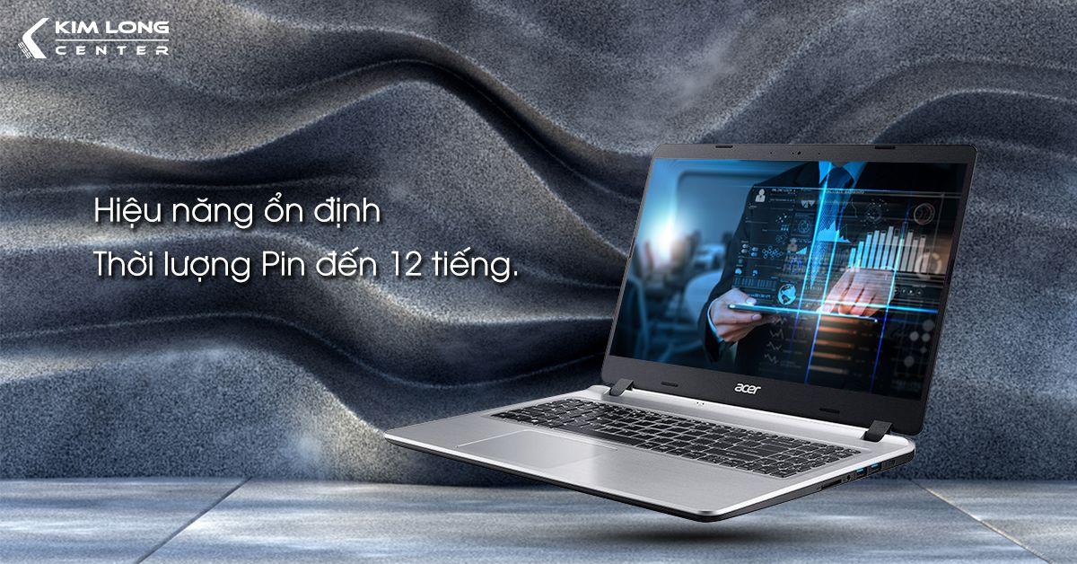 Acer Aspire 5 core i3 đáp ứng tốt công việc hàng ngày