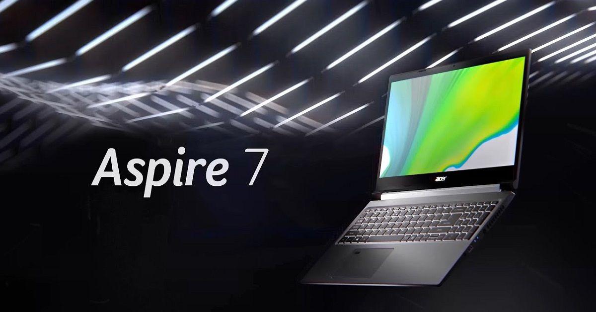 Thiết kể sang trọng trên Acer Aspire 7