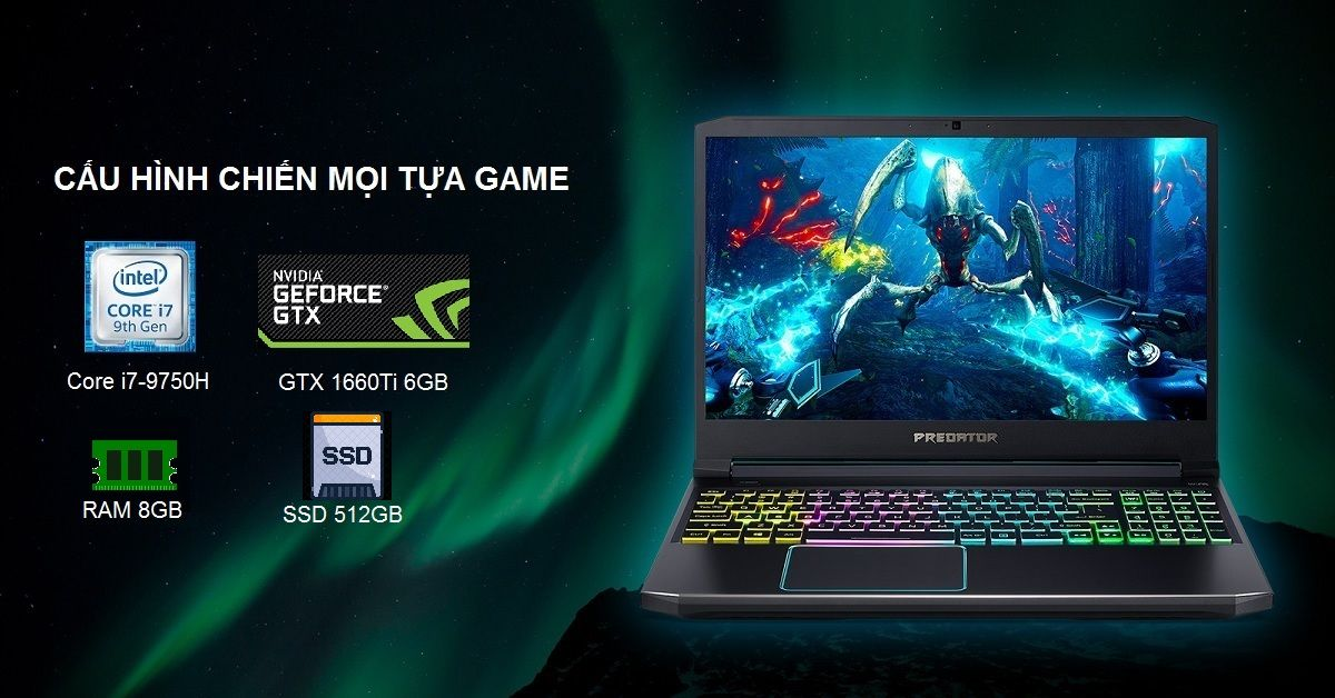 Laptop Acer Predator Helios 300 PH315-52-75R6