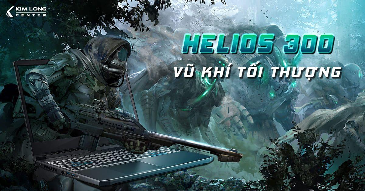 thiết kế gaming của Acer Predator Helios 300 PH315-53-770L