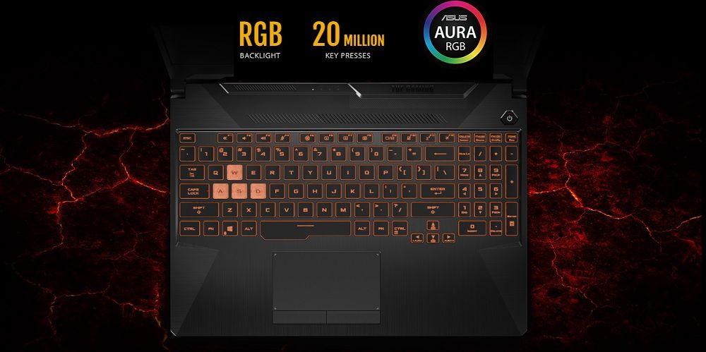 Bàn phím RGB đẹp mắt