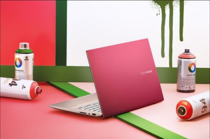 Thiết kế màu hồng asus vivobook s14 s431fa