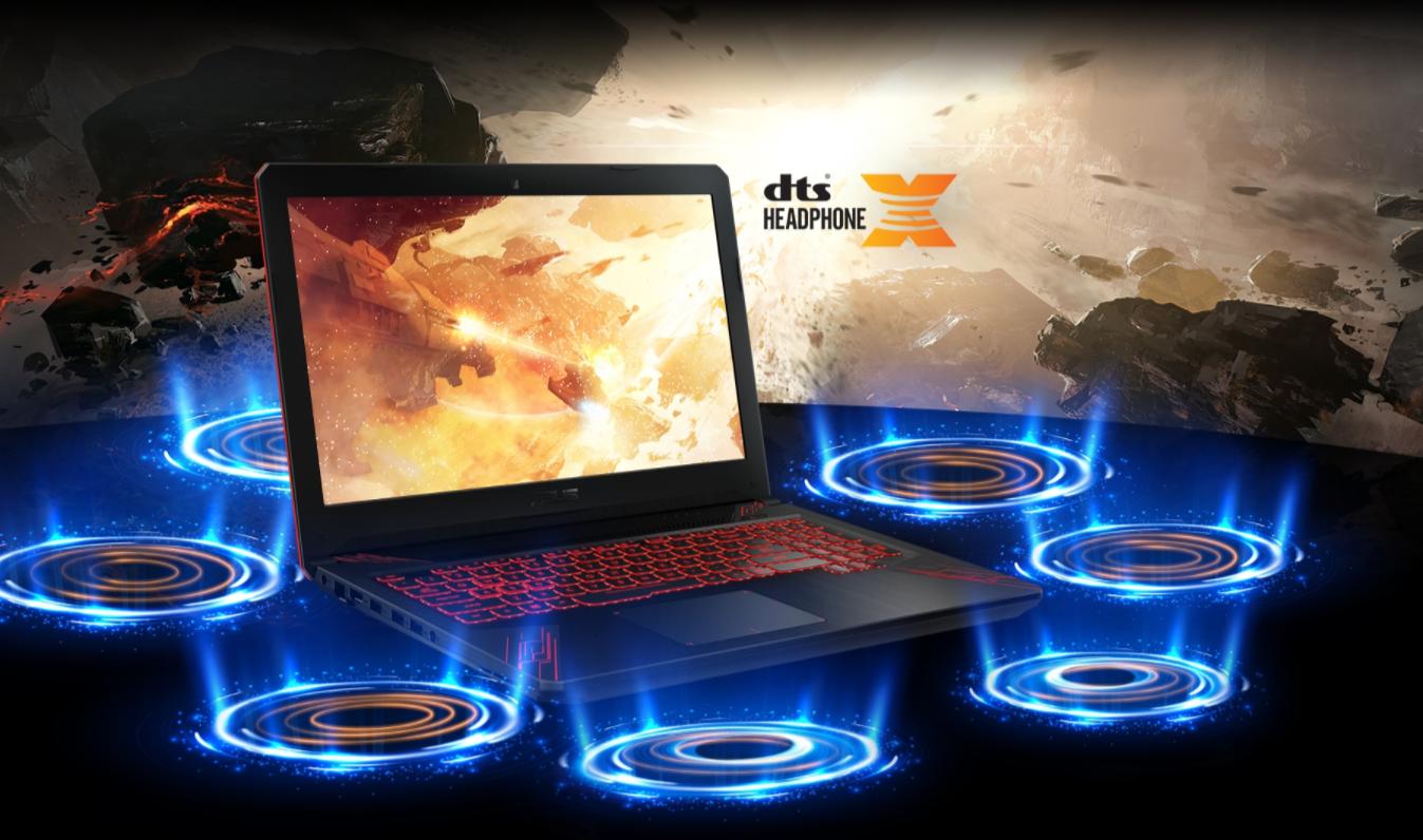 Asus TUF Gaming FX504GE-E4059T âm thanh