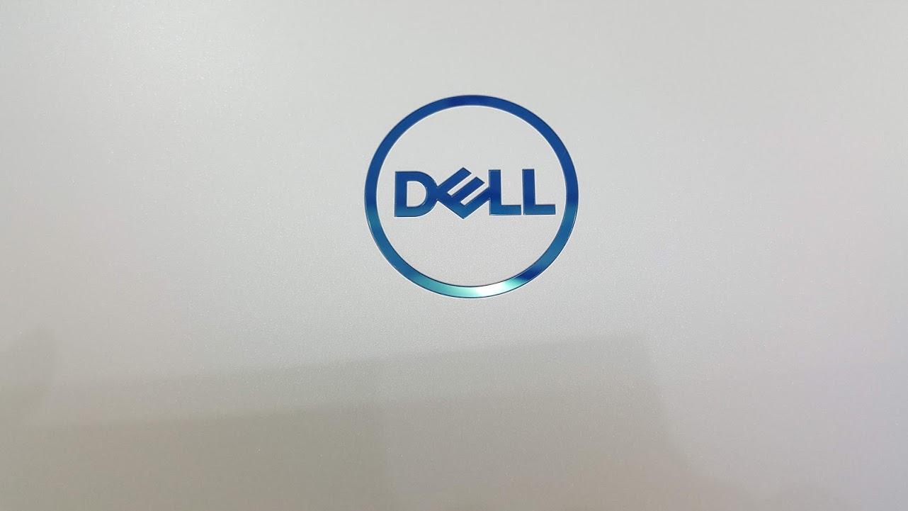 logo dell mau xanh