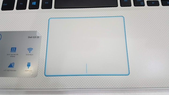 touchpad  Dell G3 3579