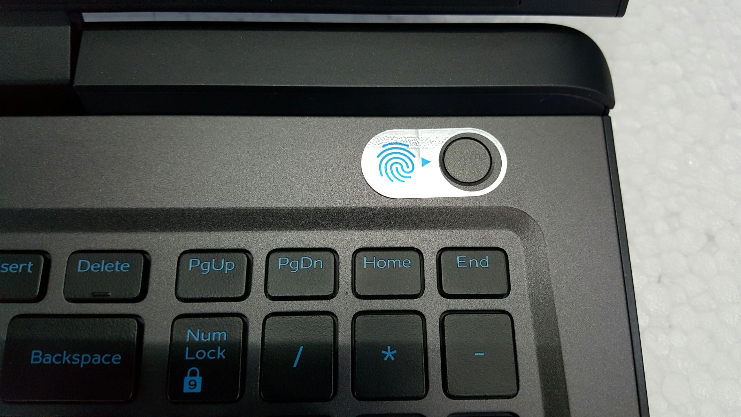 bao mat trên Dell G7 7588