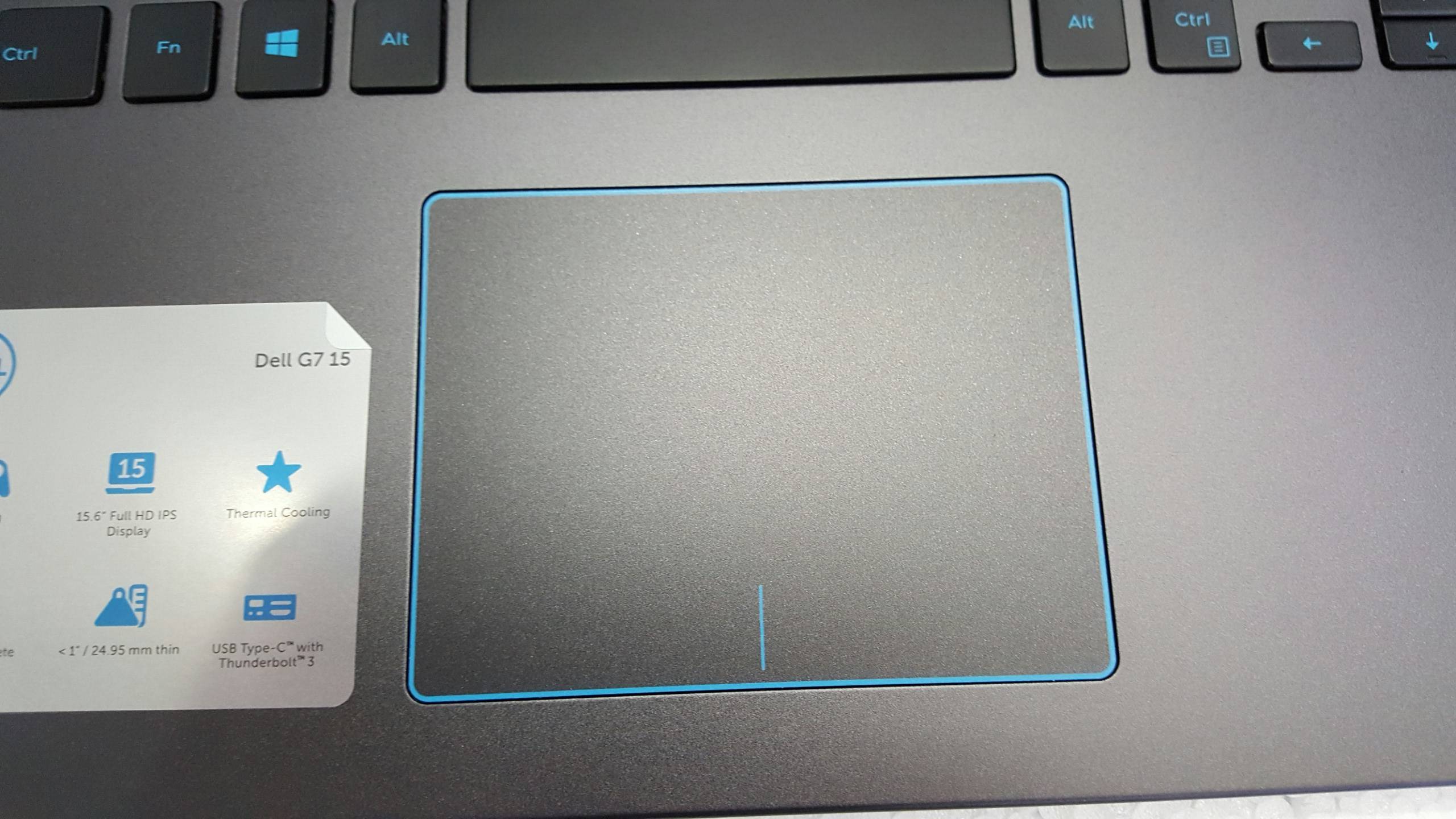 Touchpad Dell G7 7588