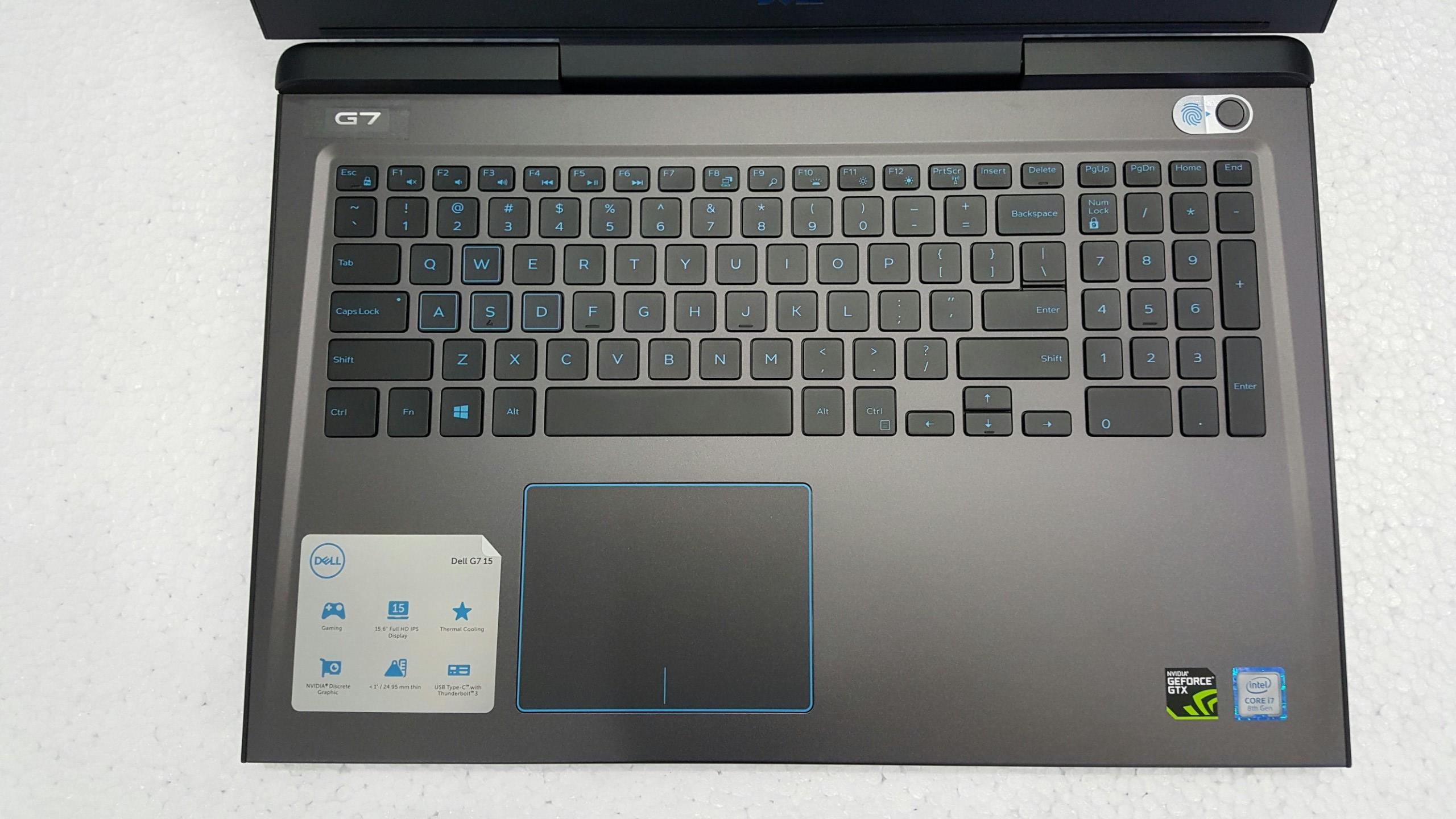 Bàn phím Dell G7 7588