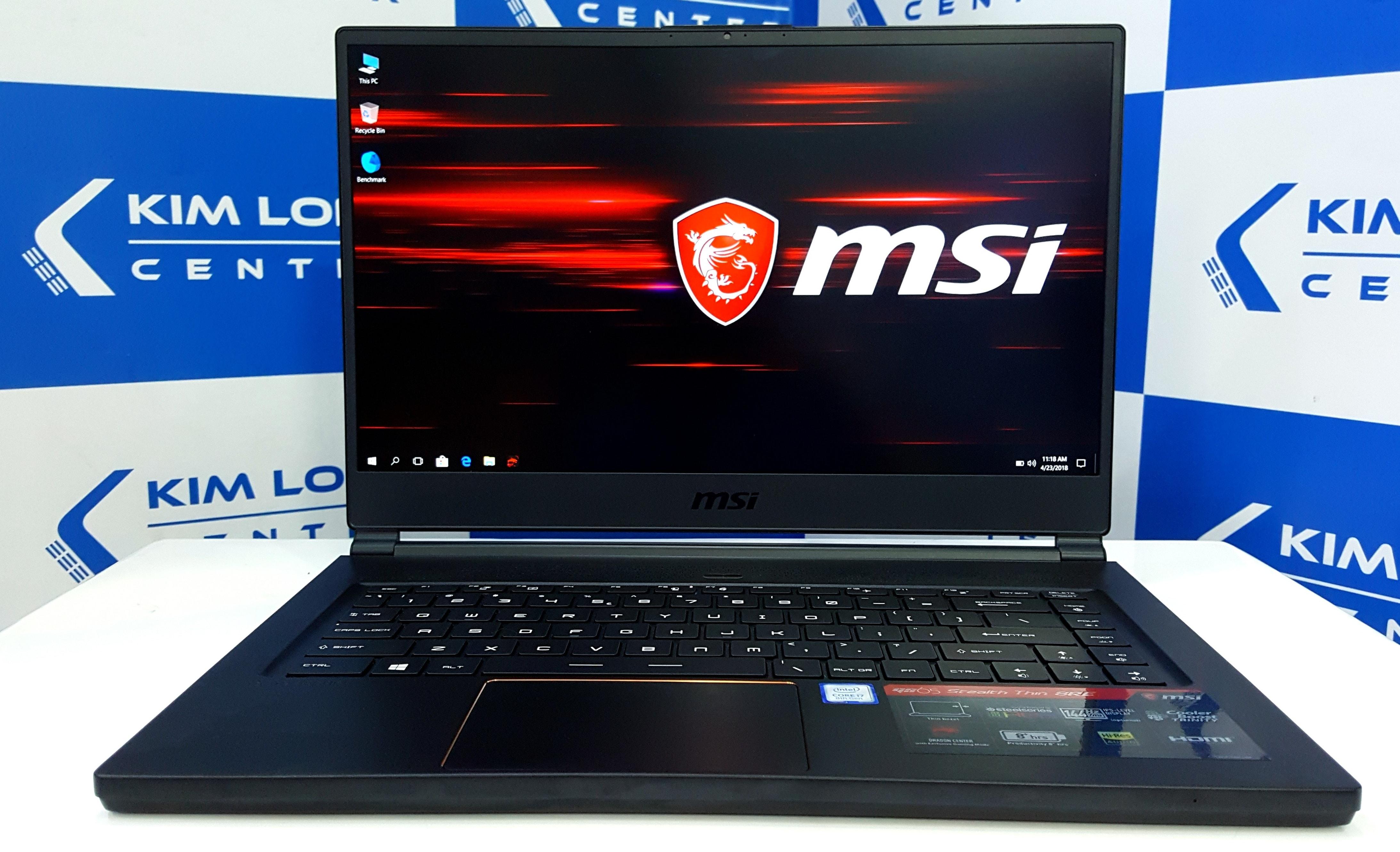 Đánh Giá Laptop MSI GS65 i7 8750H