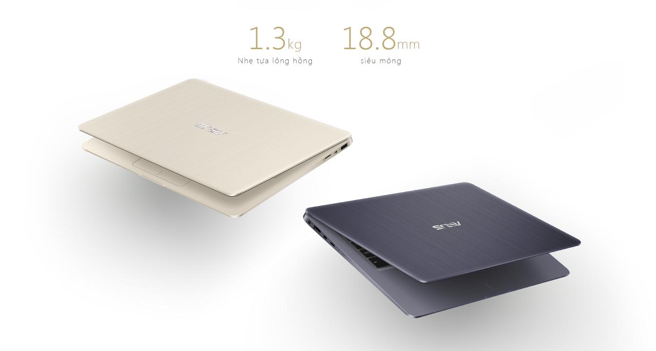 Asus Vivobook S14 S410UA-EB218T thiết kế