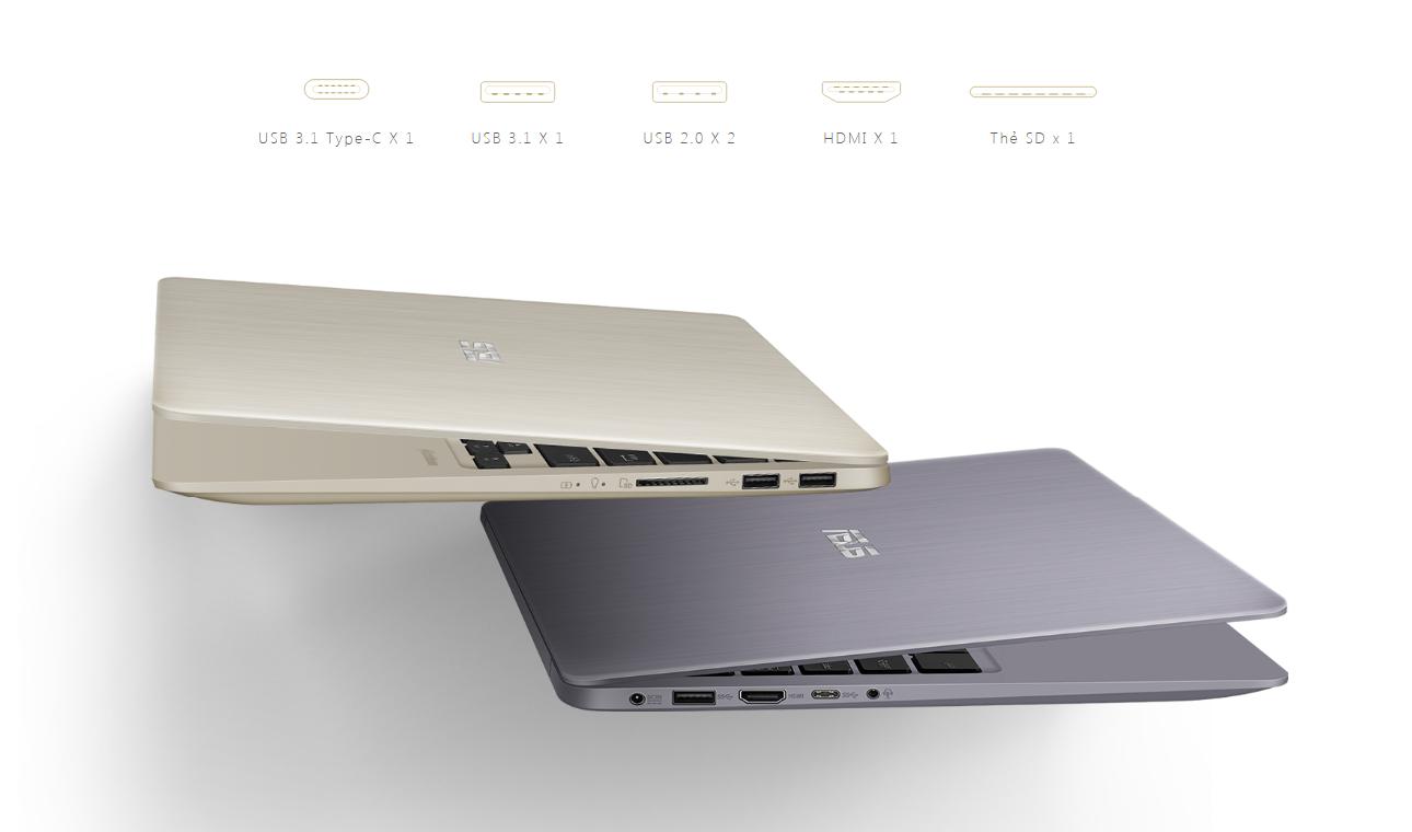 Asus Vivobook S14 S410UA-EB218T cổng kết nối