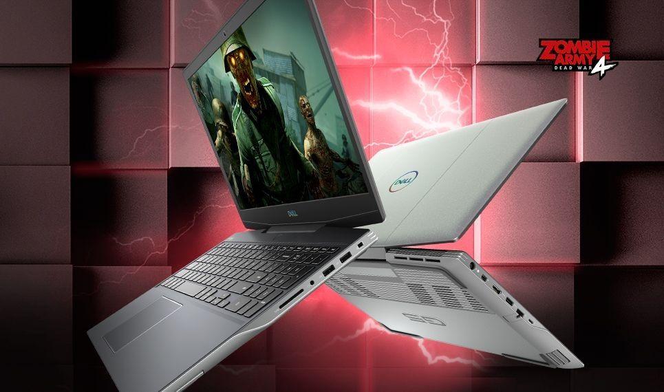 Dell gaming G5 15 sở hữu hiệu năng cao nhờ CPU AMD, RAM 16gb và SSD 512gb