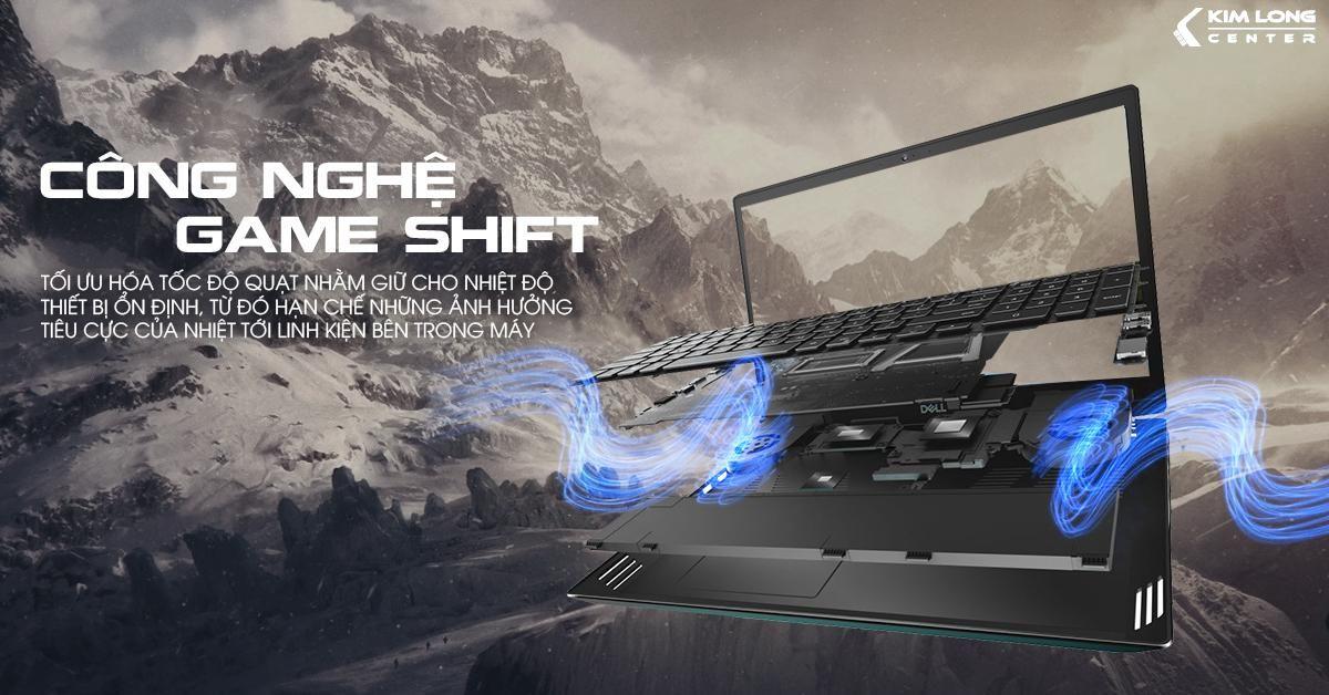 Công nghệ Game Shift độc quyền