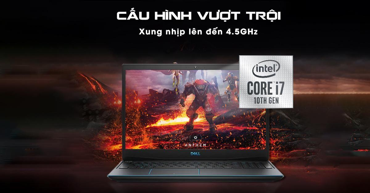 Vi xử lý Intel Core i7 thế hệ 10 mạnh mẽ