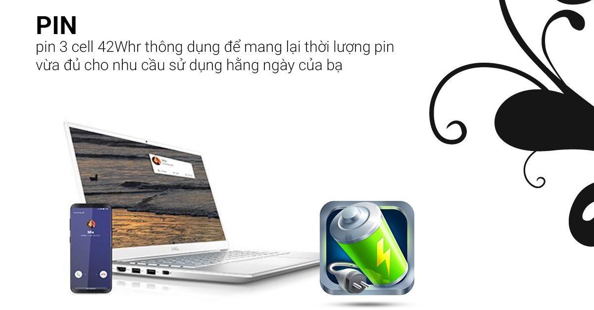 Pin hỗ trợ công nghệ sạc nhanh