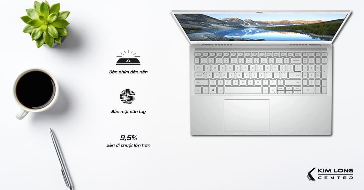 Bàn phím full size hỗ trợ đèn nền dễ dàng thao tác