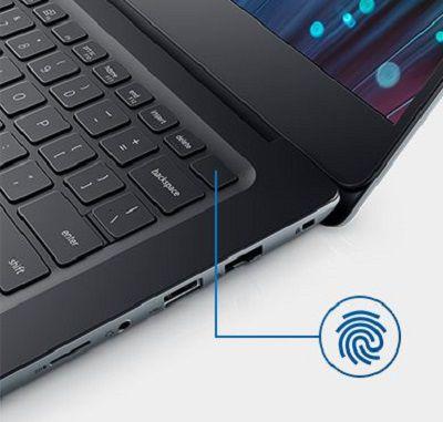 Bàn phím hiện đại với phím nguồn được tích hợp