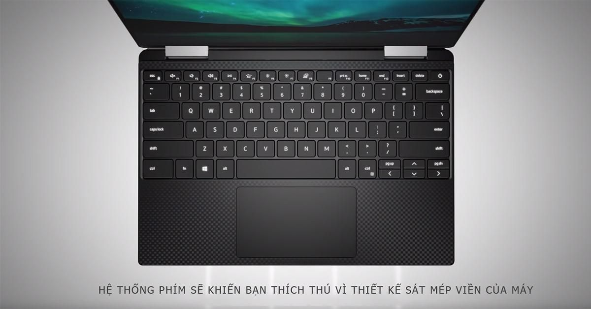 Các phím được thiết kế to hơn để gõ chính xác hơn