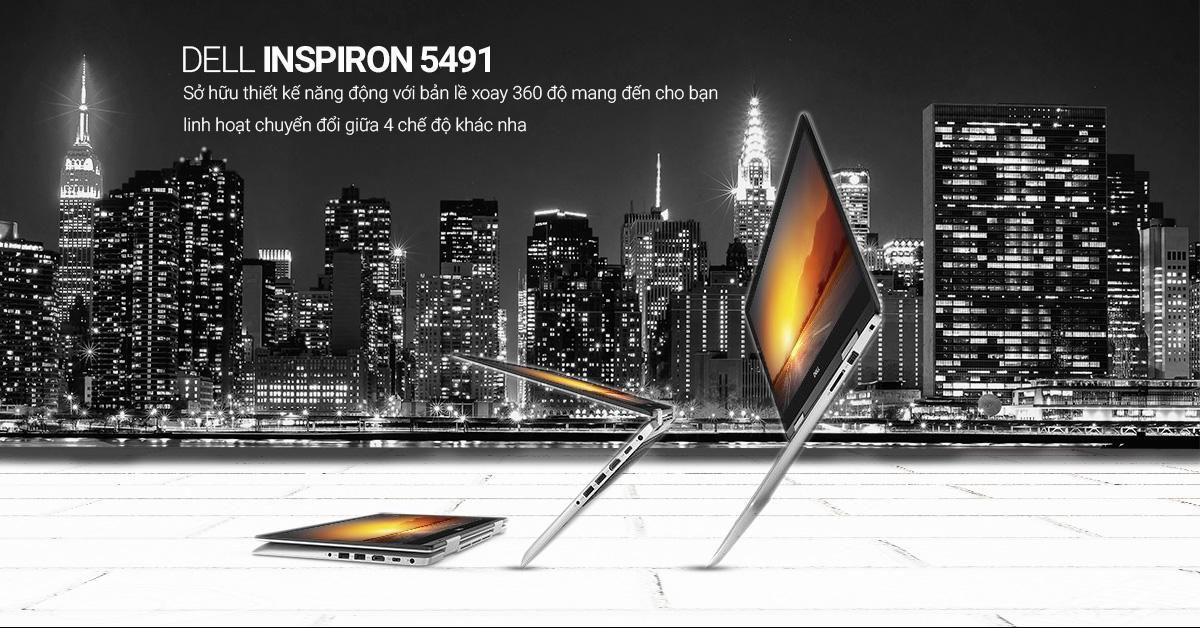 Thiết kế linh hoạt với bản lề 360 độ