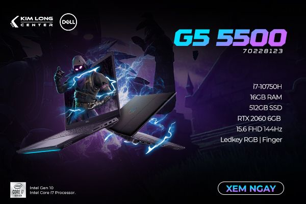 laptop dell gaming g5 5500