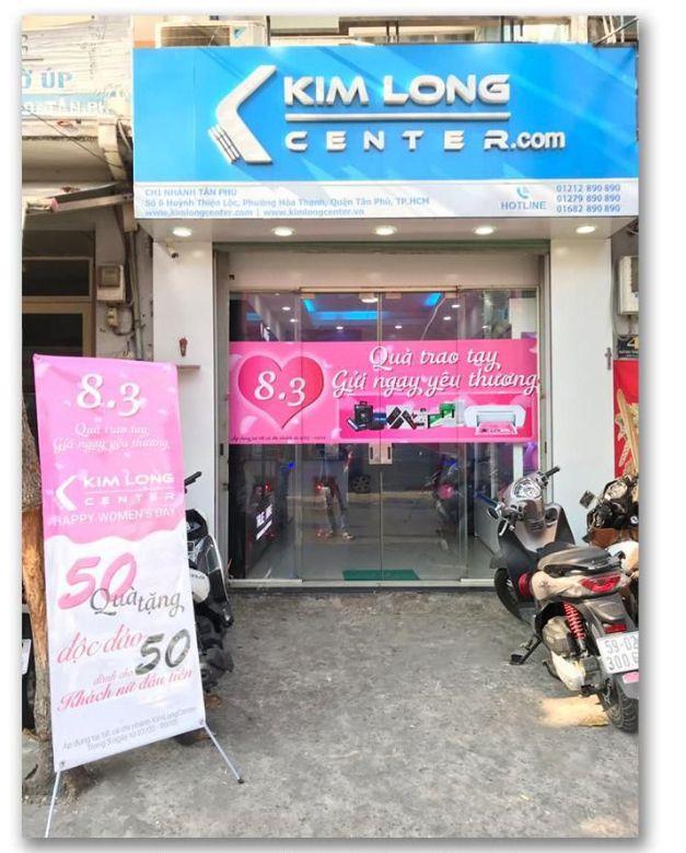 Showroom chi nhánh Quận Tân Phú