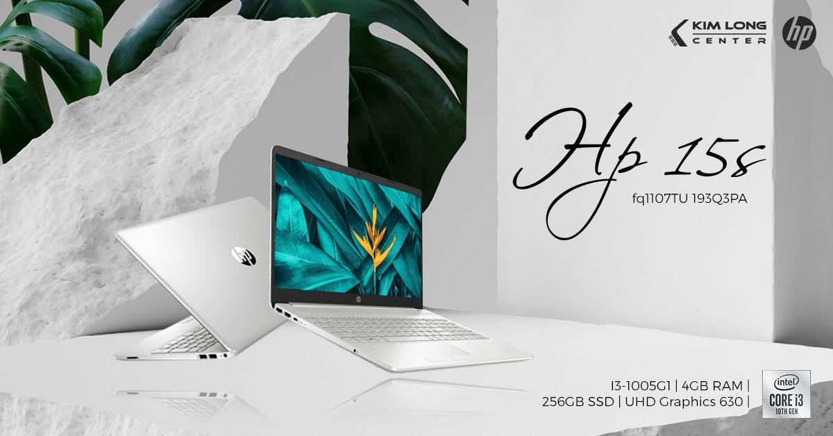 laptop hp 15s fq1107tu 193q3pa
