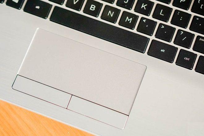 Touchpad có diện tích rộng