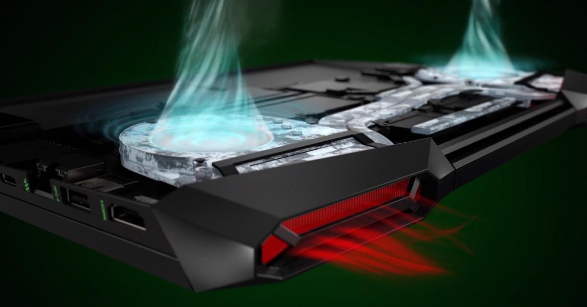 Quạt kép tản nhiệt hiệu quả để giảm nhiệt ngay lập tức