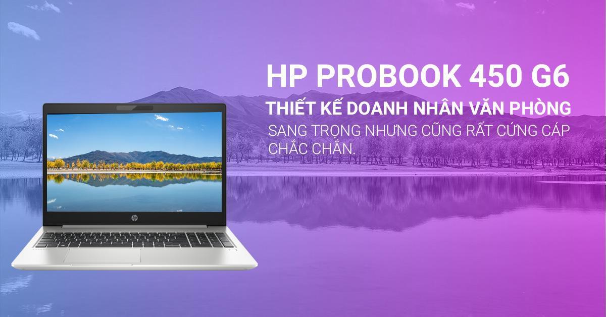 Probook 450 có thiết kế đẹp mắt và có tính di động cao