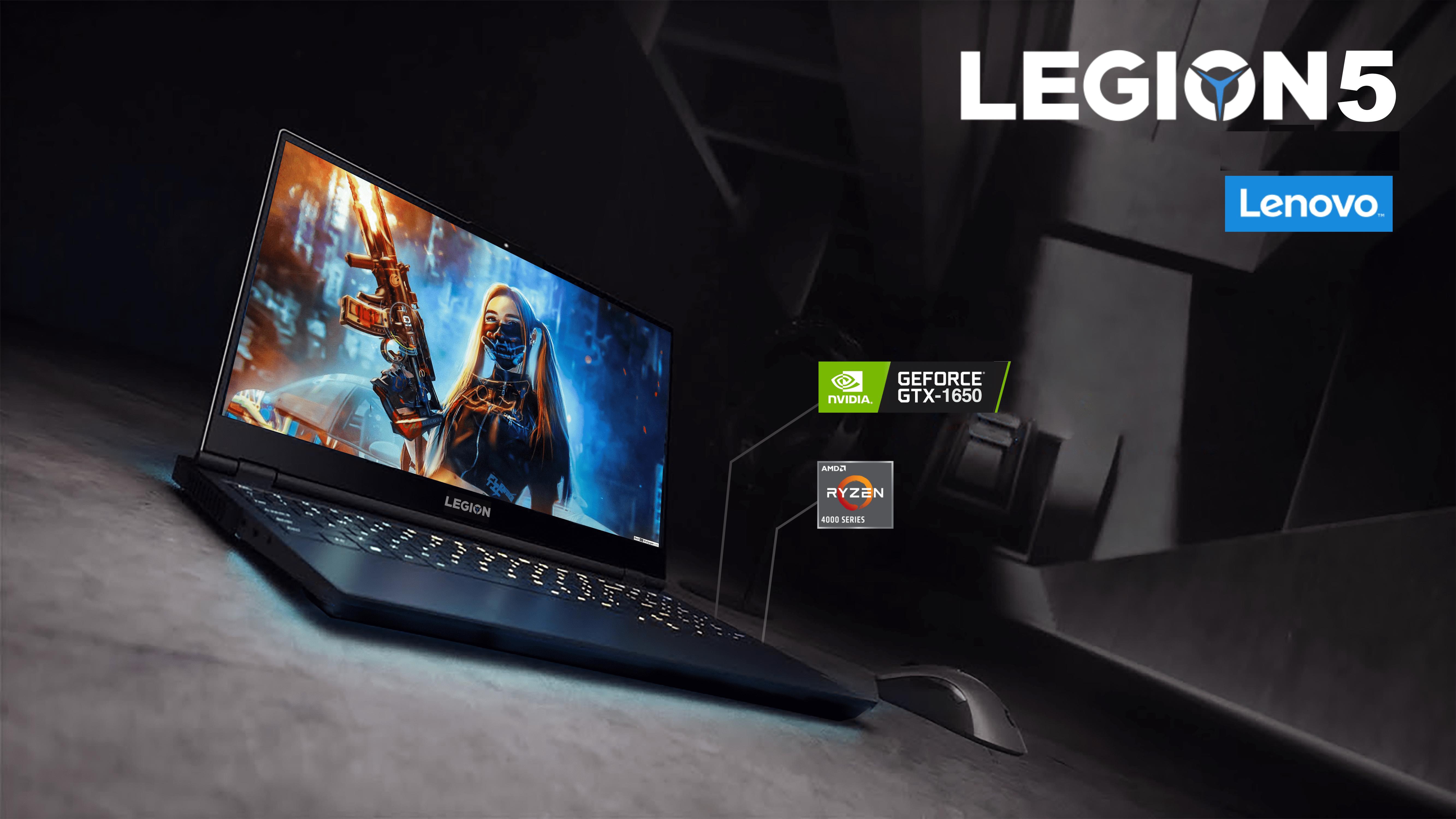 Lenovo Legion 5 15IMH05(82AU004XVN) thách thức cấu hình với tất cả đối thủ cùng phân khúc