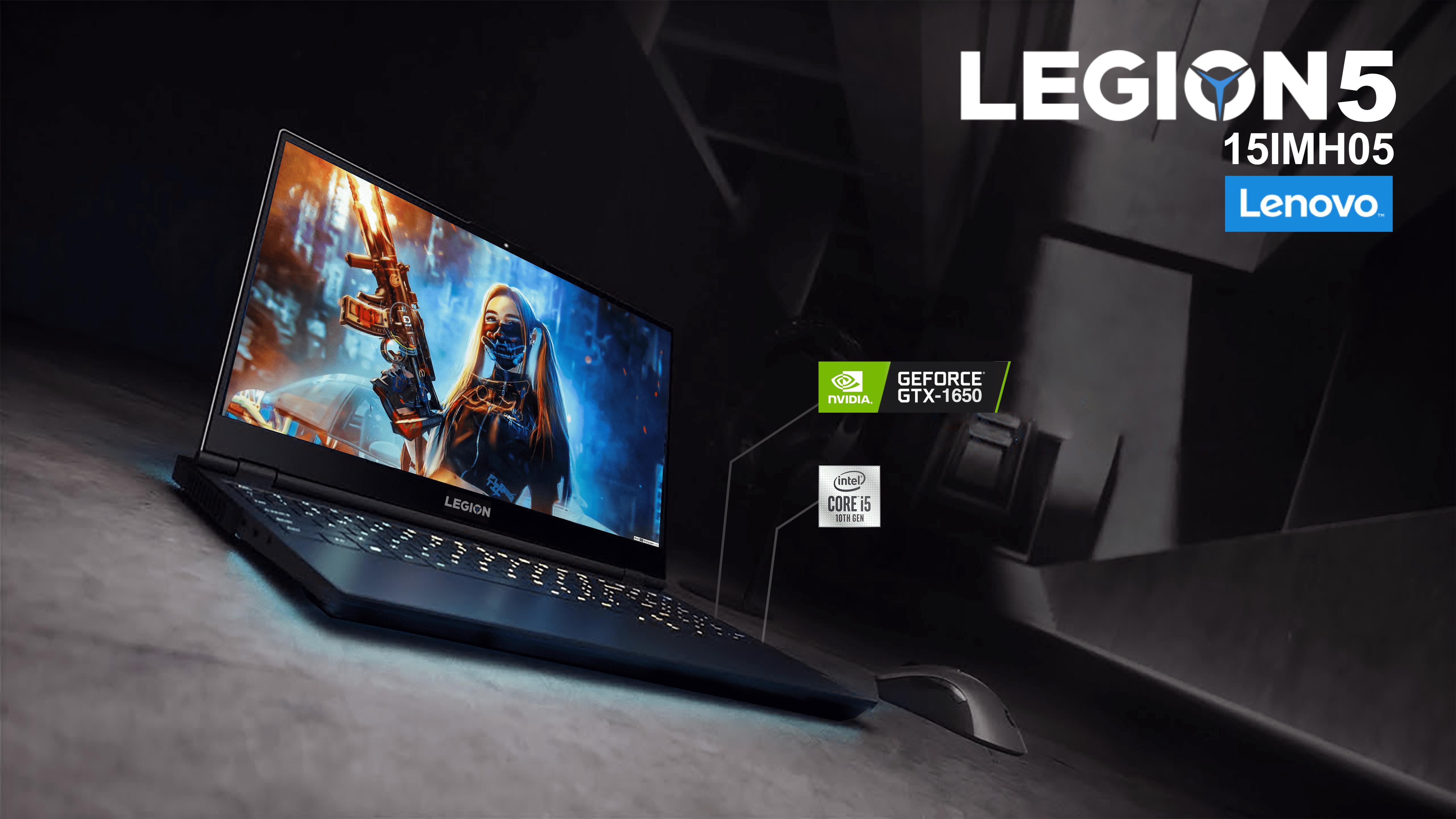 Lenovo Legion 5 15IMH05: Thách thức cấu hình với tất cả đối thủ cùng phân khúc