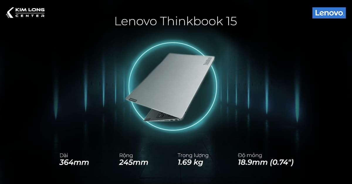 lenovo think book 15 có tính di động cao