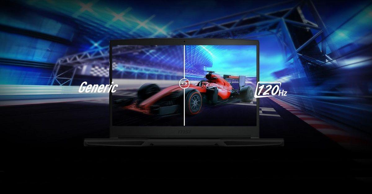 Màn hình viền mỏng 15.6' FHD 120Hz