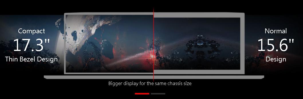 màn hình viền mỏng 17 inch sắc nét