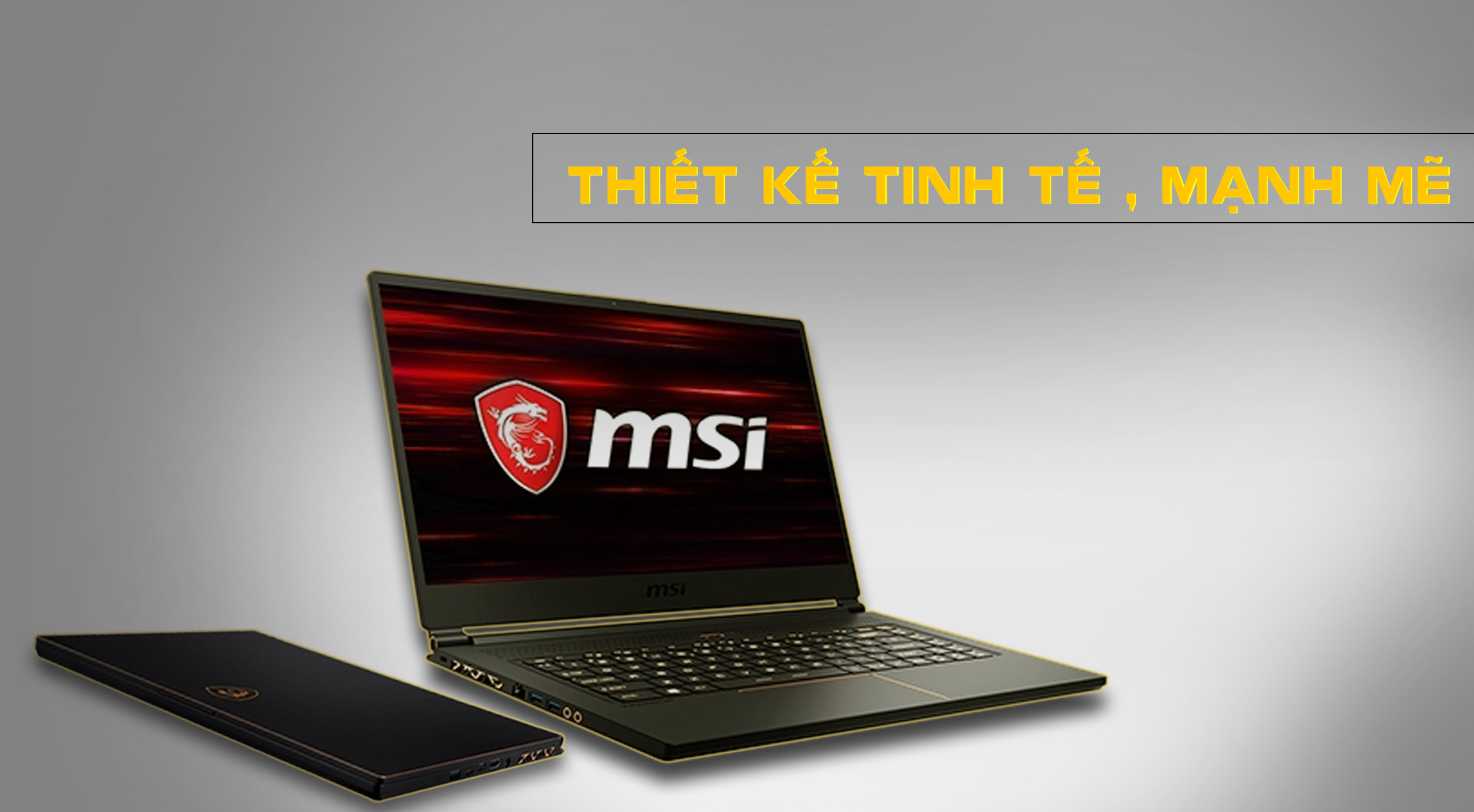 thiết kế MSI GS65 Stealth 9SE-1000VN