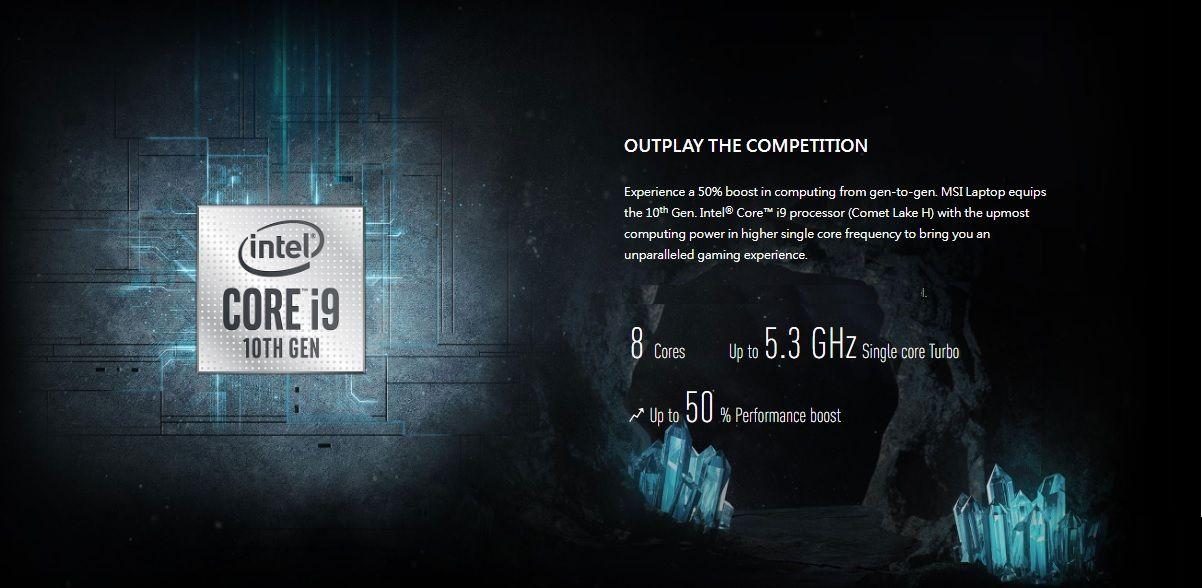 Vi xử lý Core i9 thế hệ 10 mạnh mẽ