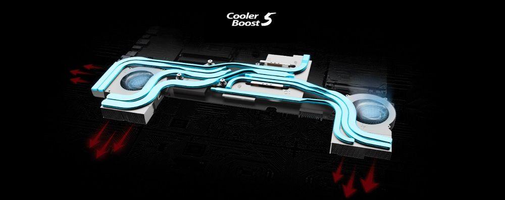 Công nghệ tản nhiệt Cooler Boost 5 độc quyền của MSI