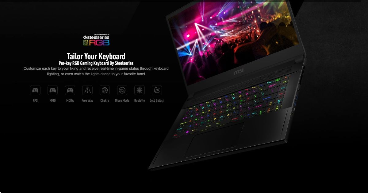 Bàn phím SteelSeries RGB Per-key