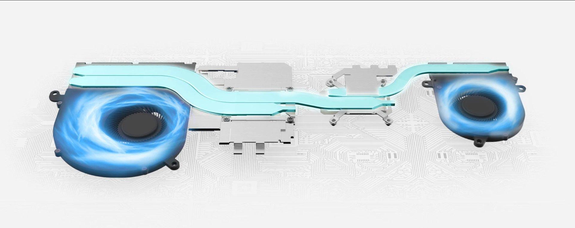 Nhiệt độ máy luôn thấp với công nghệ tản nhiệt Cooler Boost 3